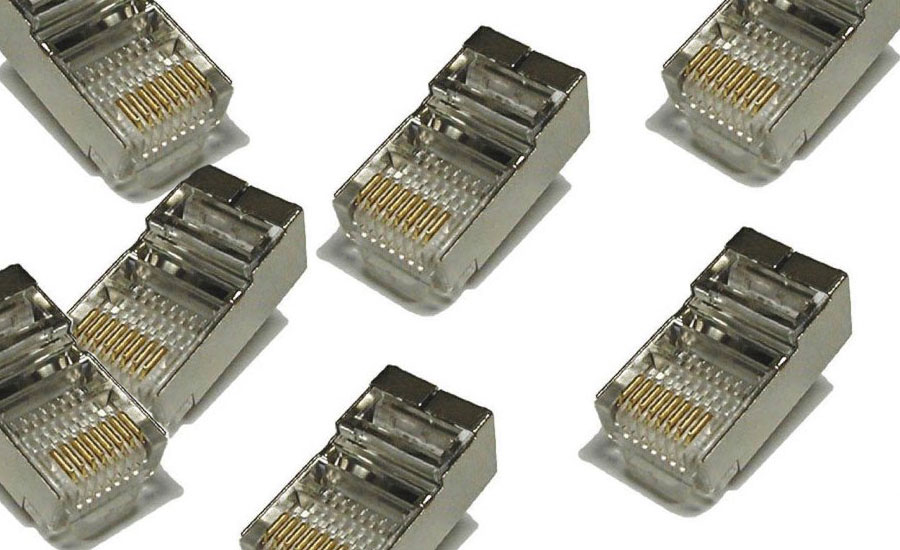 RJ45 STP shielded connectors